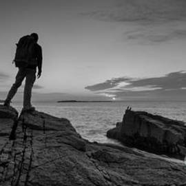 Michael Ver Sprill - The Backpacker bw pano