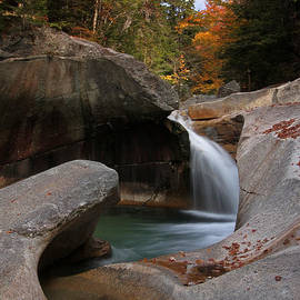 The Basin in the New Hampshire White Mountain National Forest by Juergen Roth