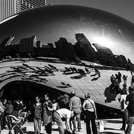 The Bean - B - W by Mark Fuge