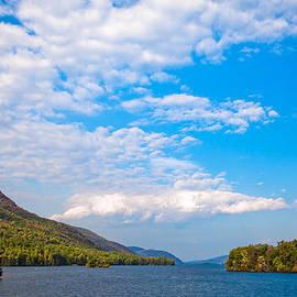 The Beautiful Lake George New York by David Patterson