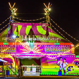 The Big Top At Night by Richard Balison