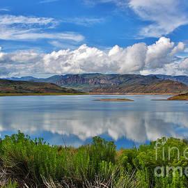 The Blue Mesa Western Slope Colorado by Janice Pariza