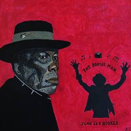 The boogie man.John Lee Hooker. by Ken Zabel