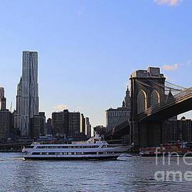 Dora Sofia Caputo Photographic Design and Fine Art - The Brooklyn Bridge and the New New York City Skyline