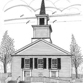The Brownington Congregational Church by Richard Wambach