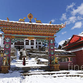 Robert Preston - The buddhist Tengboche Monastery in the Everest Region of Nepal