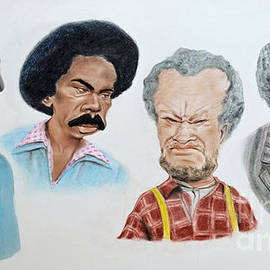 Jim Fitzpatrick - The Cast of Sanford and Son Altered Version