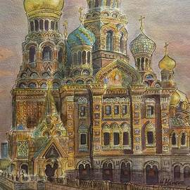 Henrieta Maneva - The Church of Our Savior on the Spilled Blood  St Petersburg