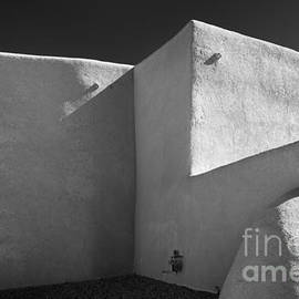 The church of St. Francis de Assisi, New Mexico by Justin Foulkes