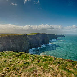 The Cliffs of Moher 1 - County Clare - Ireland by Bruce Friedman
