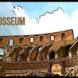 John Malone - The Colosseum Poster