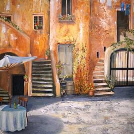 The Courtyard by Alan Lakin