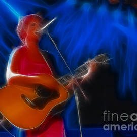 Gary Gingrich Galleries - The Cranberries-Dolores-1-Fractal