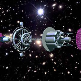 Walter Oliver Neal - The Daedalus Anti-Matter Drive Starship