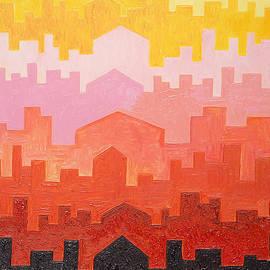 Taikan Nishimoto - The Dawn In Arabia