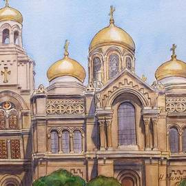Henrieta Maneva - The Dormition of the Mother of God Cathedral  Varna Bulgaria