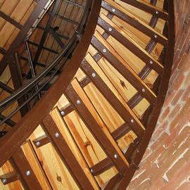 Ausra Huntington nee Paulauskaite - The Downside of Spiral Stairs
