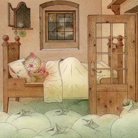 The Dream Cat 10 by Kestutis Kasparavicius