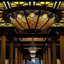 The Driskill Hotel Lobby Ceiling by Judy Vincent