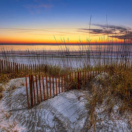 The Dunes at Sunset by Debra and Dave Vanderlaan