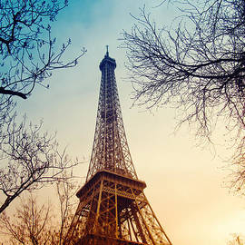 The Eiffel Tower by Dunja Zupanic