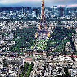 The Eiffel Tower by Jennie Breeze