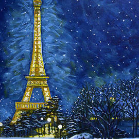 Carol OMalley - The Eiffel Tower