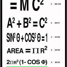 Robert J Sadler - The Einstein Eye Chart