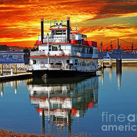 The End of a Beautiful Day in the San Francisco Bay by Jim Fitzpatrick