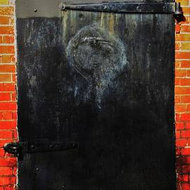 The Face In The Door Vision # 2 by Marcus Dagan