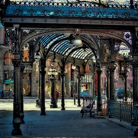 The Famous Pergola in Pioneer Square by David Patterson