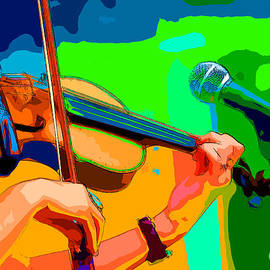 C H Apperson - The Fiddler