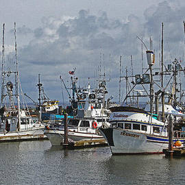 Tom Janca - The Fishing Boats At Westport