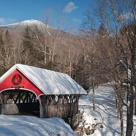 Michael Blanchette - The Flume Bridge in Winter