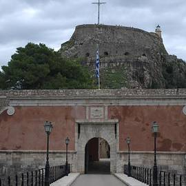 the front gate old fort Corfu by George Katechis