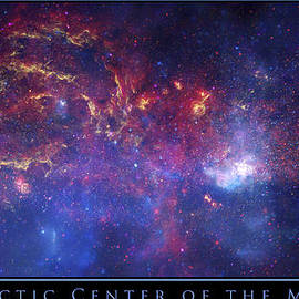 The Galactic Center Of The Milky Way by Adam Mateo Fierro