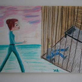 The Girl and the Stalker by Tania Stefania Katzouraki