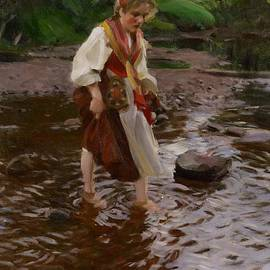 Anders Leonard Zorn - The Girl from Alvdalen