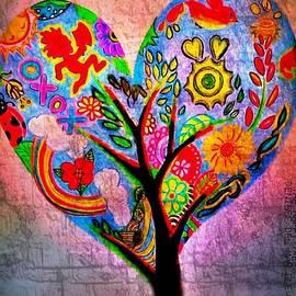 The Happy Tree by Denisse Del Mar Guevara