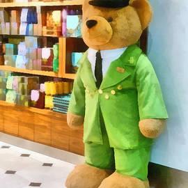 The harrods Bear by Steve Taylor