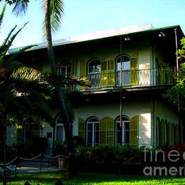 The Hemingway House In Key West by Susanne Van Hulst