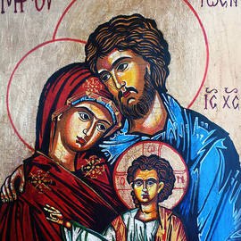 Ryszard Sleczka - The Holy Family Icon