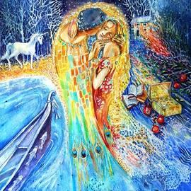 Trudi Doyle - The Homecoming Kiss after Gustav Klimt