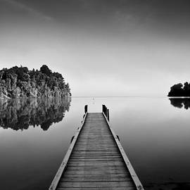 Andy Holt - The jetty at Mapourika
