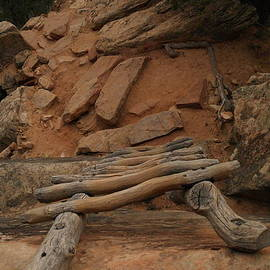Jeff Swan - The Ladder Down Into Sapupu Canyon