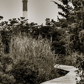 The Light At Fire Island by Dave Hahn