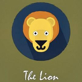 The Lion Cute Portrait by Florian Rodarte