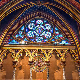 The Little Window in Sainte-Chapelle  by Tim Stanley