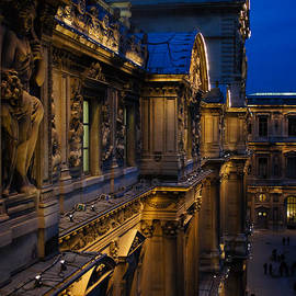 The Louvre - a Royal Palace - a Museum - an Architectural Marvel by Georgia Mizuleva