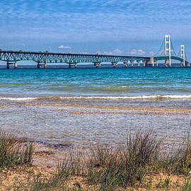 The Mackinac Bridge by Jerry Gammon